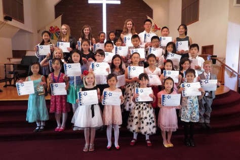 Congratulations to the students of Ocean Park Piano for a beautiful recital on Sunday, June 12, 2016