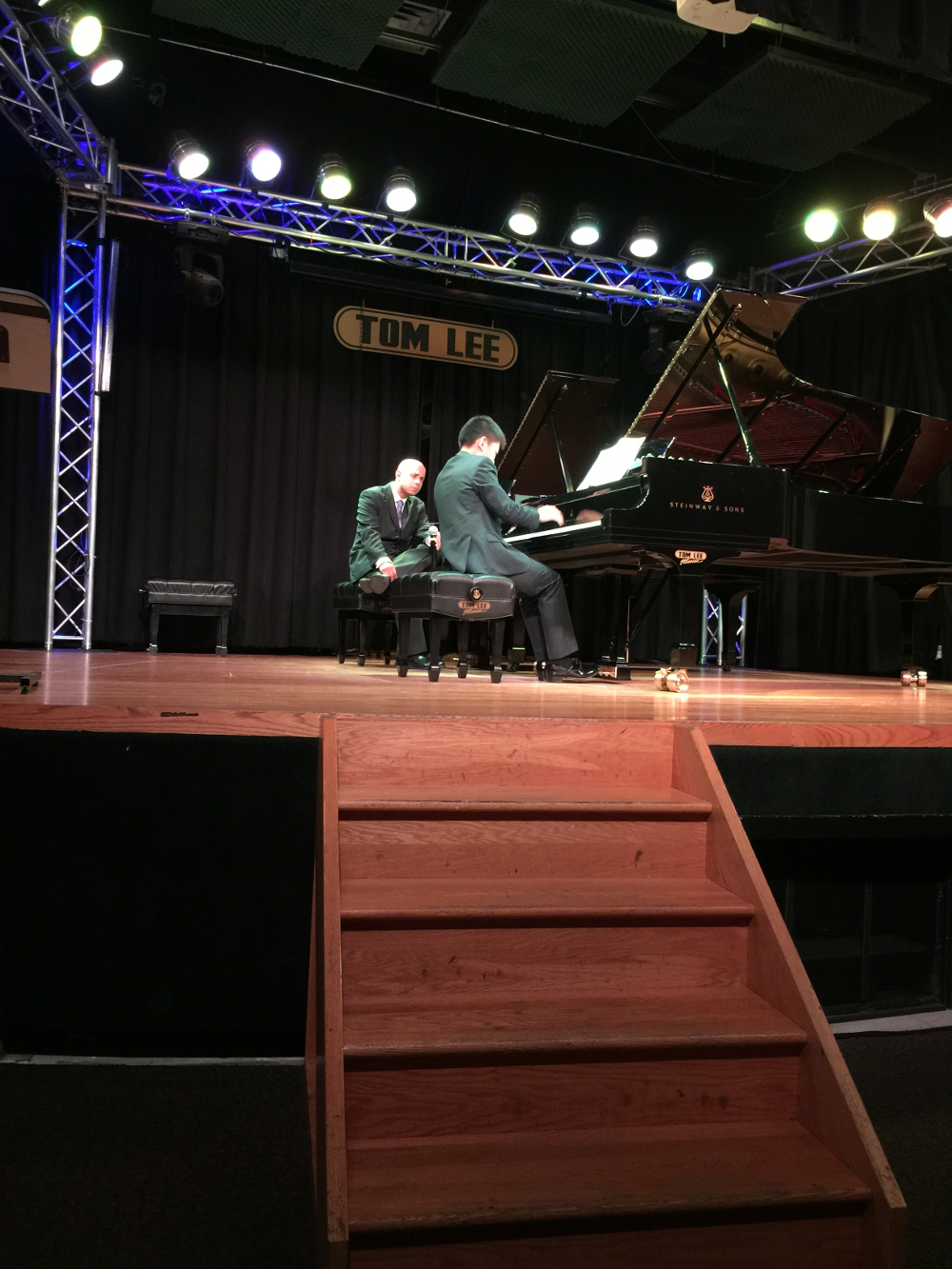 yan Zhu Performs for Stewart Goodyear at the Masterclass