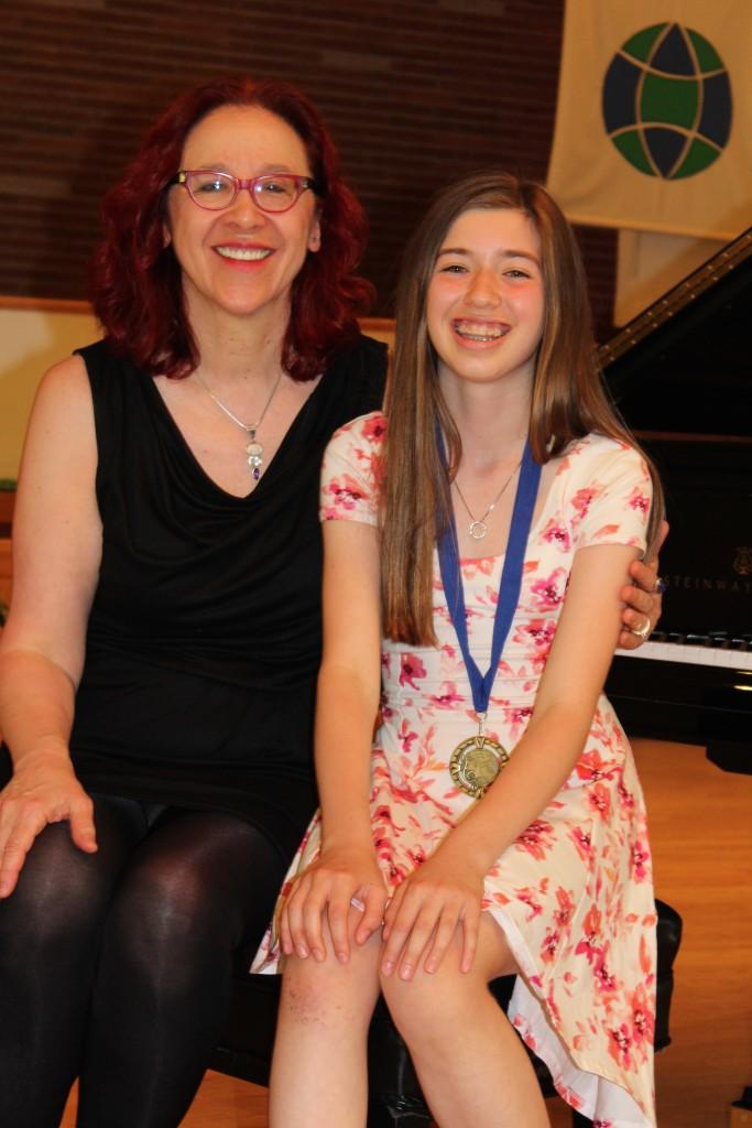 Sami and Helga at the June 2015 Recital