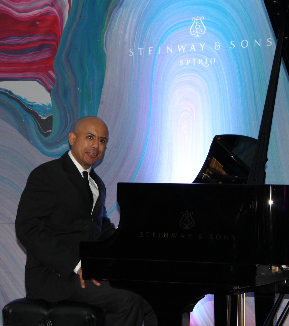 Steinway Artist Stewart Goodyear performing at the Spirio Launch September 1 2015