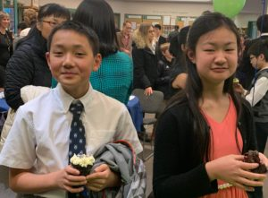 South Surrey piano studio scholarship winners